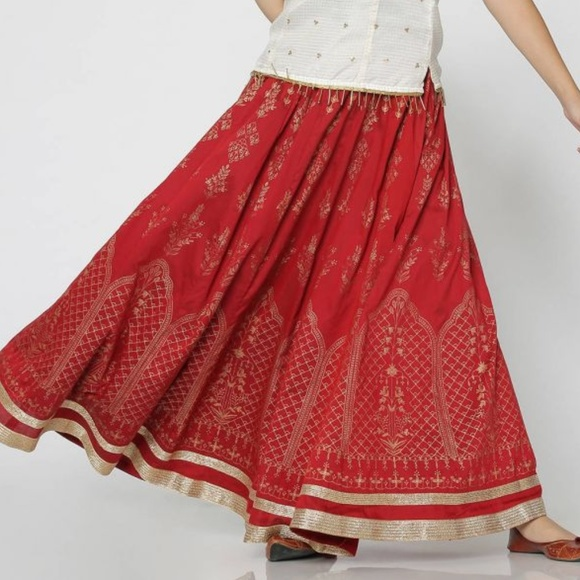 3e31d18f77 FBB India Skirts   Indian Maxi Skirt   Poshmark